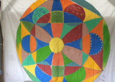 rita-schwab-completed-community-mandala-project-involving-70-people
