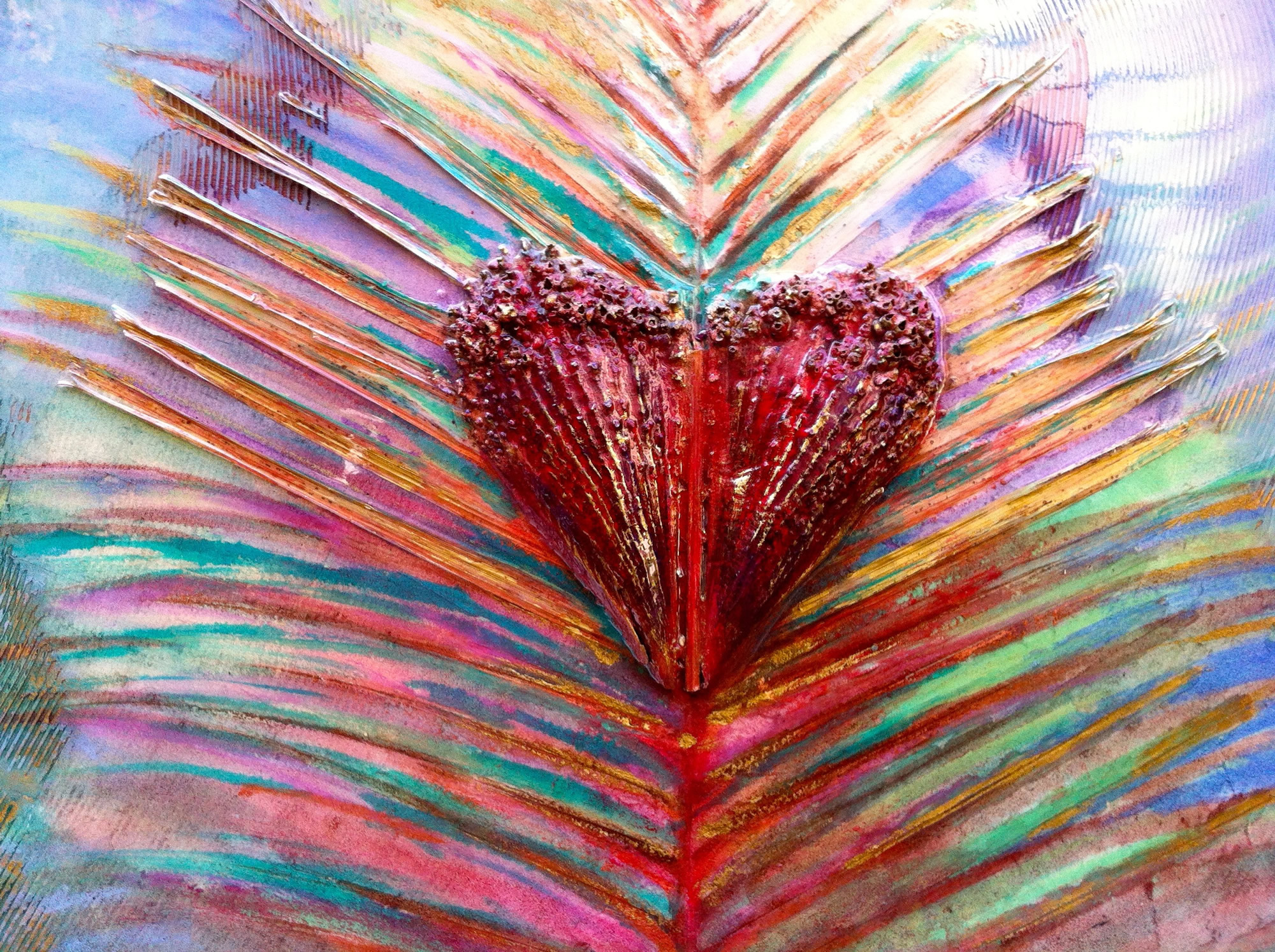 rita-schwab-art-with-a-heart-oil-fresco-with-leaf-and-shell-inlay-resin-finish-nfs