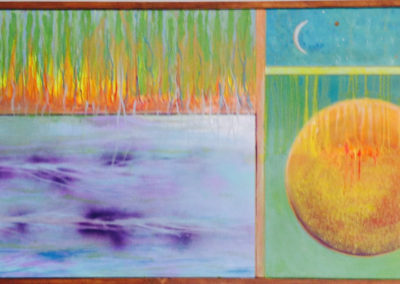 rita-schwab-earth-water-fire-air-acrylics-on-canvas-24x48cedar-framed-1600-00