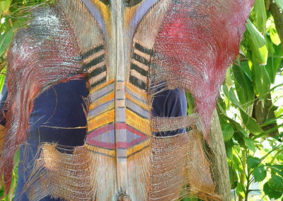 rita-schwab-large-tribal-mask-on-coconut-palm-frond