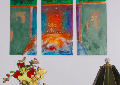 rita-schwab-oil-triptych-installed-in-customers-home